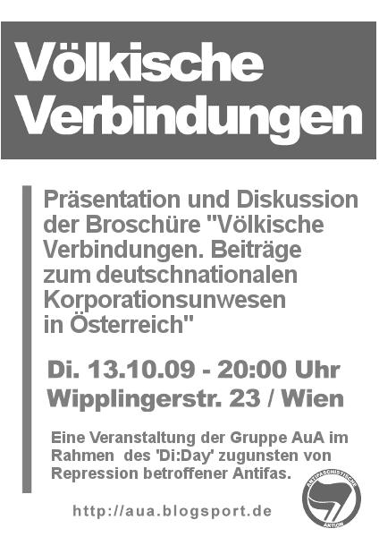 Di:Day im Oktober: 'Völkische Verbindungen'