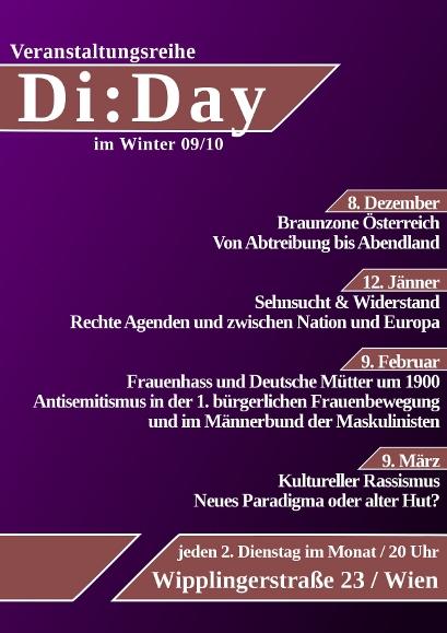 Di:Day von Dezember bis März